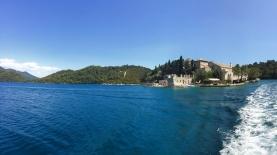 The Monastery, on an island