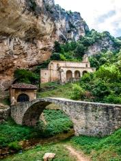 The church on the rocks, Burgos