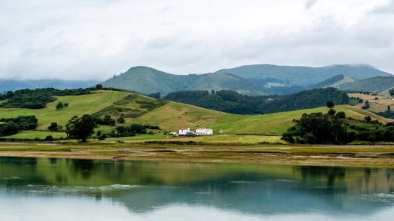 Nearby San Vicente de la Barquera, Cantabria