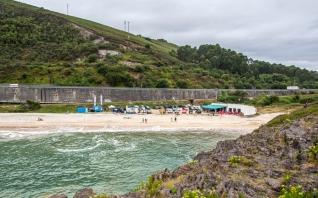Playa de San Antolín, Asturias