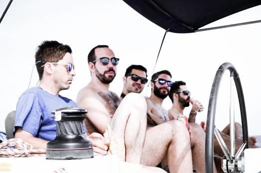 Dudes on board